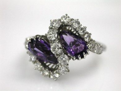 67948/Amethyst Ring Cynthia Findlay Antiques CFA1209225
