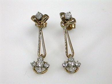 67948/Diamond Earrings Cynthia Findlay Antiques CFA120643