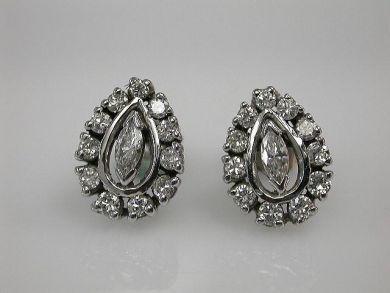 67948/Diamond Earrings Cynthia Findlay Antiques CFA1209200
