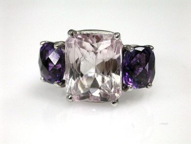 67948/Kunzite Ring Cynthia Findlay Antiques CFA120635C