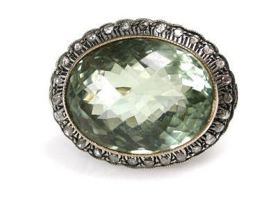 67948/Prasiolite Ring Cynthia Findlay Antiques CFA1209290C
