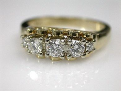 67948/Three Stone Diamond Ring Cynthia Findlay Antiques CFA1209261