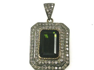 67948/Tourmaline Pendant Cynthia Findlay Antiques CFA120655C