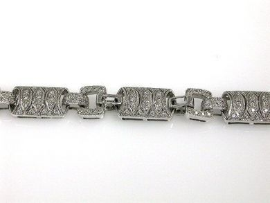 68172-July /Art Deco Diamond Bracelet Cynthia Findlay Antiques CFA1206181