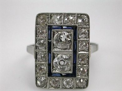 68172-July /Art Deco Ring Cynthia Findlay Antiques CFA1205275