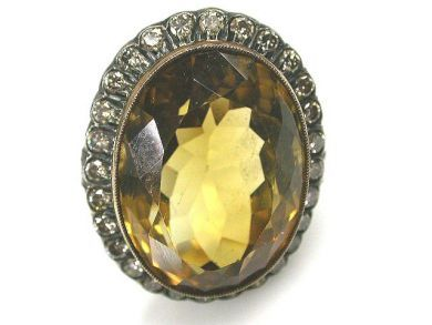 68172-July /Citrine Cluster Cynthia Findlay Antiques CFA1112172