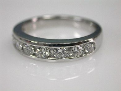 68172-July /Diamond Half Eternity Band Cynthia Findlay Antiques CFA1202241