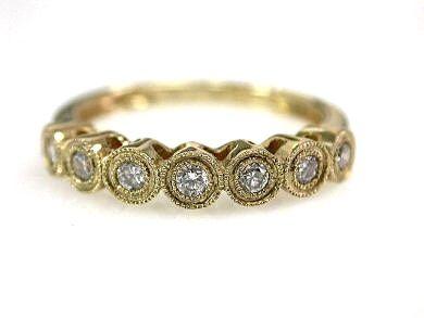 Vintage 6 Diamond Ring