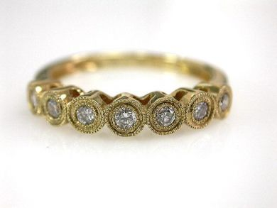 Vintage 6 Diamond Ring