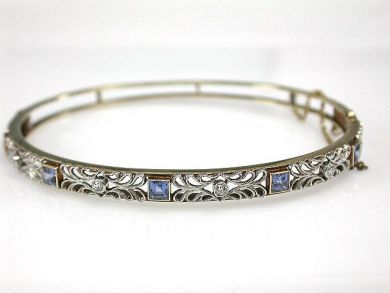 68195-July /Antique Bangle Cynthia Findlay Antiques CFA1206301C