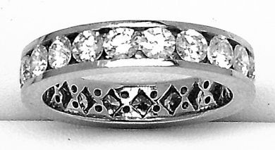 68195-July /Diamond Eternity Band Cynthia Findlay Antiques 062712