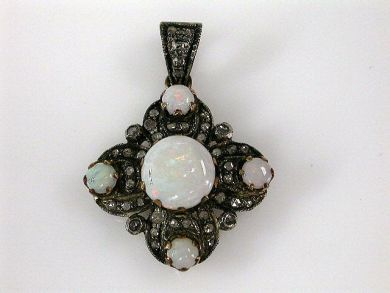 68195-July /Opal Pendant Cynthia Findlay Antiques CFA1206283C 1