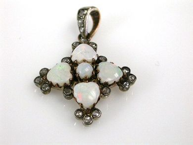 68195-July /Opal Pendant Cynthia Findlay Antiques CFA1206305C