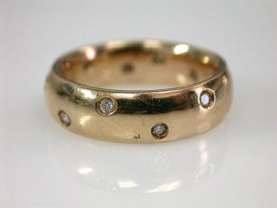 68195-July /Rose Gold Band Cynthia Findlay Antiques CFA1206271