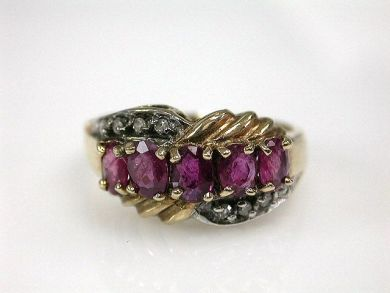 68195-July /Ruby Ring Cynthia Findlay Antiques CFA1206285