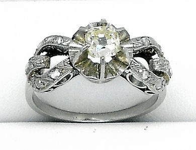 68195-July /Vintage Engagement Ring Cynthia Findlay Antiques 07071224