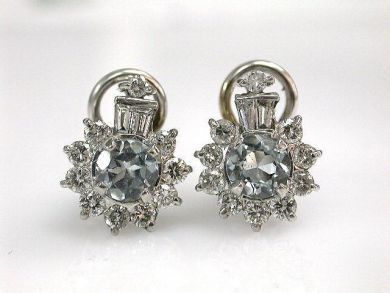 68397-July /Aquamarine Cluster Cynthia Findlay Antiques CFA1207152