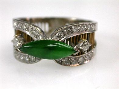 68397-July /Jade Ring Cynthia Findlay Antiques  CFA1206338