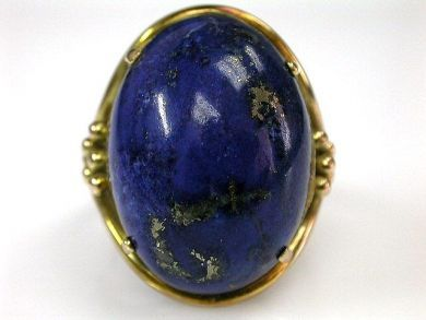 68397-July /Lapis Ring Cynthia Findlay Antiques CFA120722