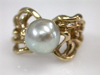 68397-July /Pearl Ring Cynthia Findlay Antiques CFA1206332 1