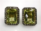 Prasiolite Earrings