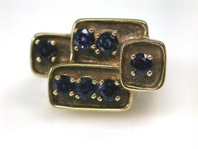 68397-July /Sapphire Ring Cynthia Findlay Antiques CFA1207103 1