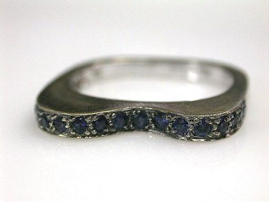 68397-July /Sapphire Ring Cynthia Findlay Antiques CFA1207116
