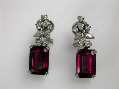 68397-July /Tourmaline Earrings Cynthia Findlay Antiques CFA1207124