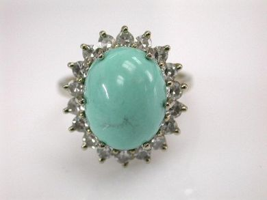 68397-July /Turquoise Ring Cynthia Findlay Antiques CFA1206234
