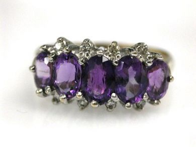 68450-August/Amethyst Cluster Cynthia Findlay Antiques CFA1207237