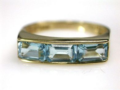 68450-August/Blue Topaz Ring Cynthia Findlay Antiques CFA1207268
