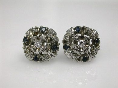 68450-August/Cluster Studs Cynthia Findlay Antiques CFA1207318