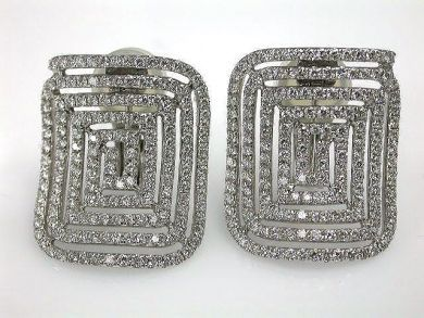68450-August/Diamond Earrings Cynthia Findlay Antiques CFA1207321