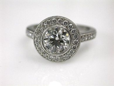68450-August/Diamond Halo Cynthia Findlay Antiques CFA1207277