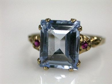 68450-August/Spinel Ring Cynthia Findlay Antiques CFA1207258