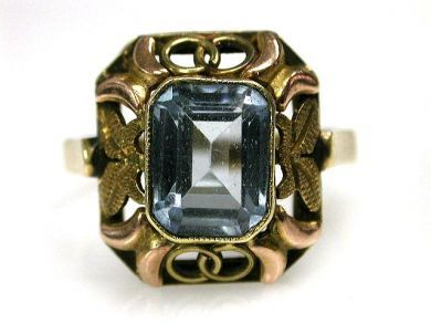 68450-August/Spinel Ring Cynthia Findlay Antiques CFA1207259