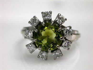68450-August/Tourmaline Cluster Cynthia Findlay Antiques CFA1207212