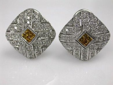 68518-September/Diamond Earrings Cynthia Findlay Antiques CFA1207320