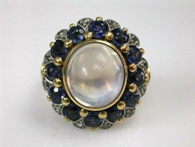 68518-September/Moonstone Ring Cynthia Findlay Antiques CFA1207299 1