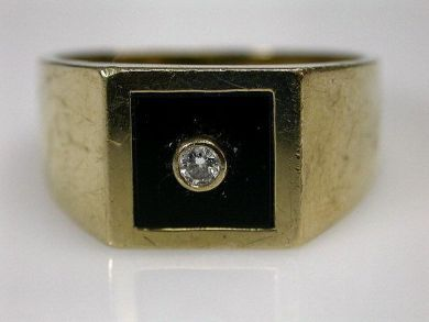 68518-September/Onyx Ring Cynthia Findlay Antiques CFA1207379