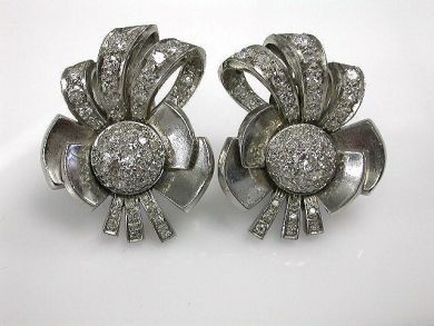 Retro Diamond Earrings