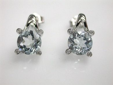 68668-March/Aquamarine Earrings Cynthia Findlay Antiques CFA120892