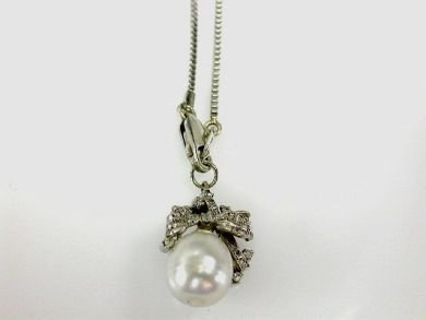 68668-March/Baroque Pearl Pendant Cynthia Findlay Antiques CFA1207348