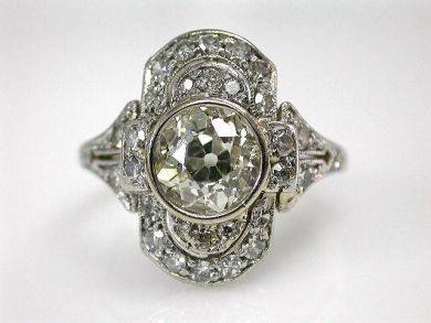 68700-September/Art Deco Ring Cynthia Findlay Antiques CFA1208188