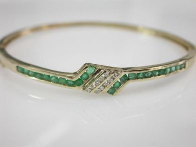 68700-September/Emerald Bracelet Cynthia Findlay Antiques CFA1208233