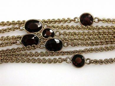 68700-September/Garnet Necklace Cynthia Findlay antiques CFA1208173C