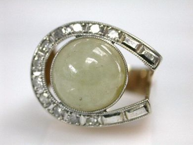 68700-September/Horseshoe Ring Cynthia Findlay Antiques CFA1208186