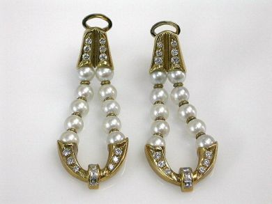 68700-September/Pearl Earrings Cynthia Findlay Antiques CFA1208178