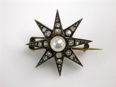 68700-September/Pearl Starburst Cynthia Findlay Antiques cfa12089243