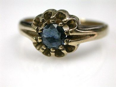 68700-September/Vintage Sapphire Ring Cynthia Findlay Antiques CFA1208153
